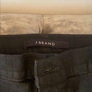 J brand size 31 black high rise skinny jean